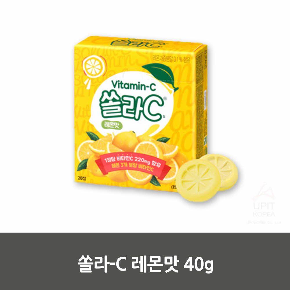 W2D65FE쏠라-C 레몬맛 40g,생활용품,생활잡화,집안용품,잡화