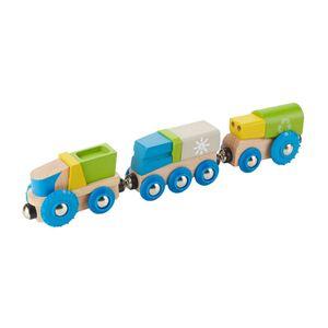 장난감 어린이 교육 놀이 완구 리사이클링 기차 3P