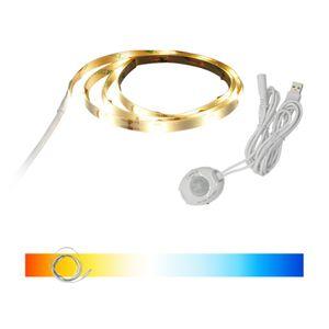 USB LED센서등 스트립바 방수 줄조명 동작감지 침대