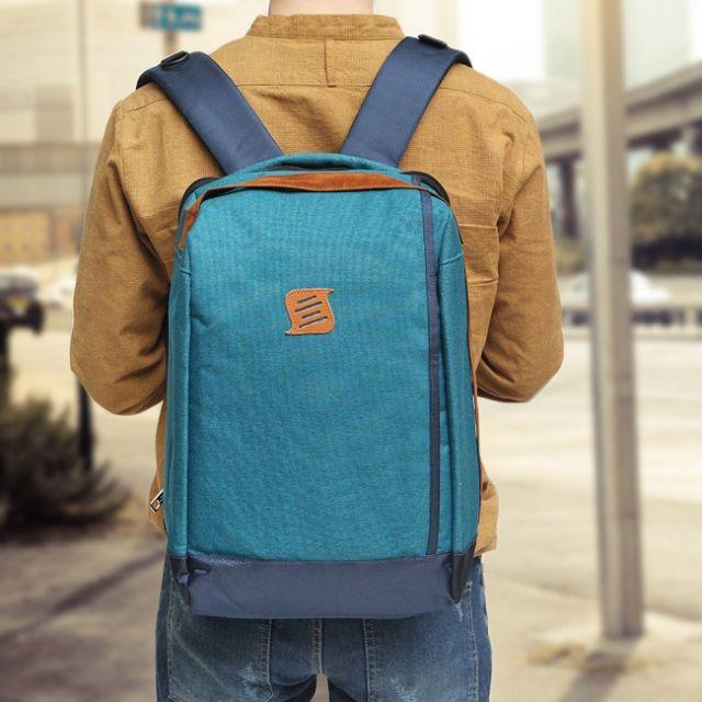 [현재분류명],트랜디하고심플한감성 스카이블루백팩,백팩,캐쥬얼백팩,가방