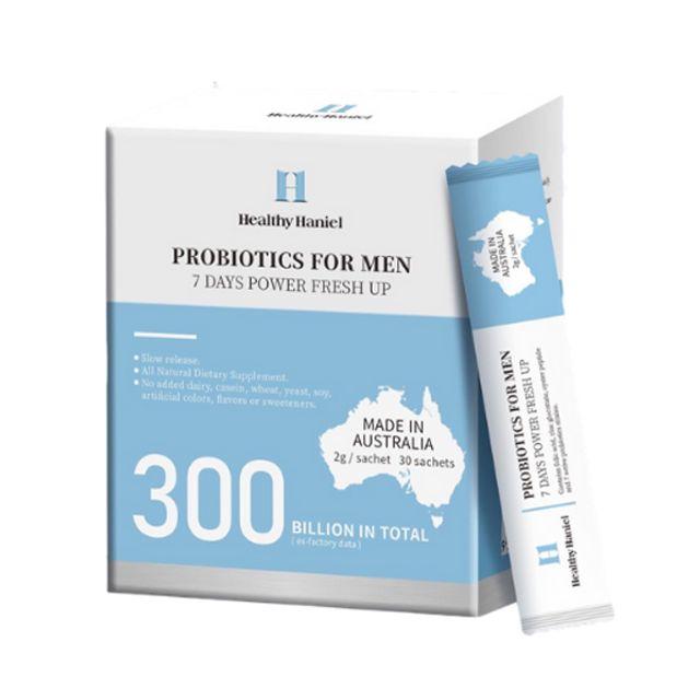 [해외] health hanieal 300억 남성용 프로바이오틱스 30스틱