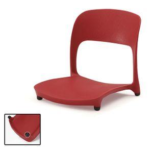 업소용 좌식 등받이 의자 허리편한 앉는 책상 1인용