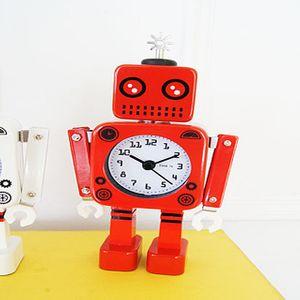 각각의 개성이 있는 로보트 탁상시계 알람시계