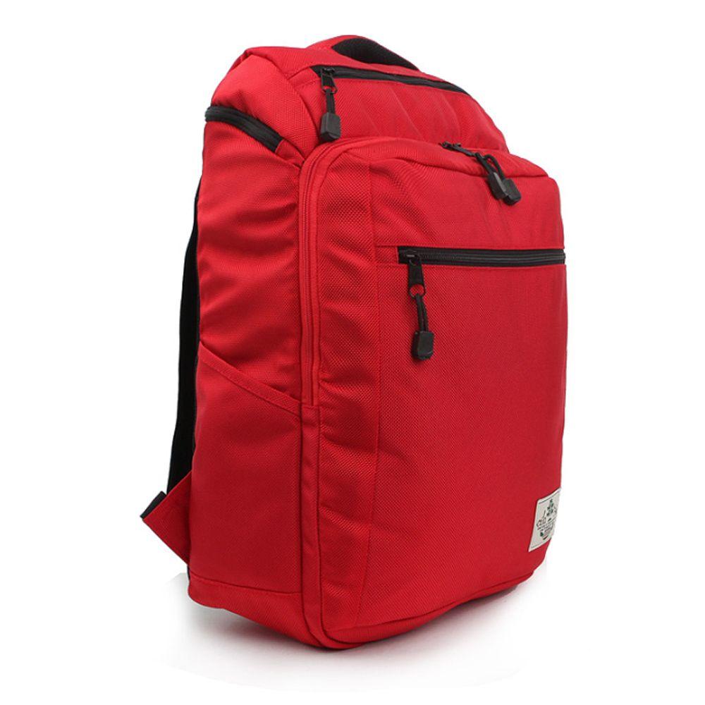 심플 스타일 가방 학생 예쁜 백팩 캐주얼 레드 책가방