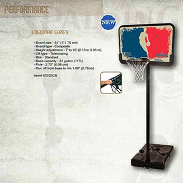 스팔딩 간편설치 이동식 농구대 1개입 B0522