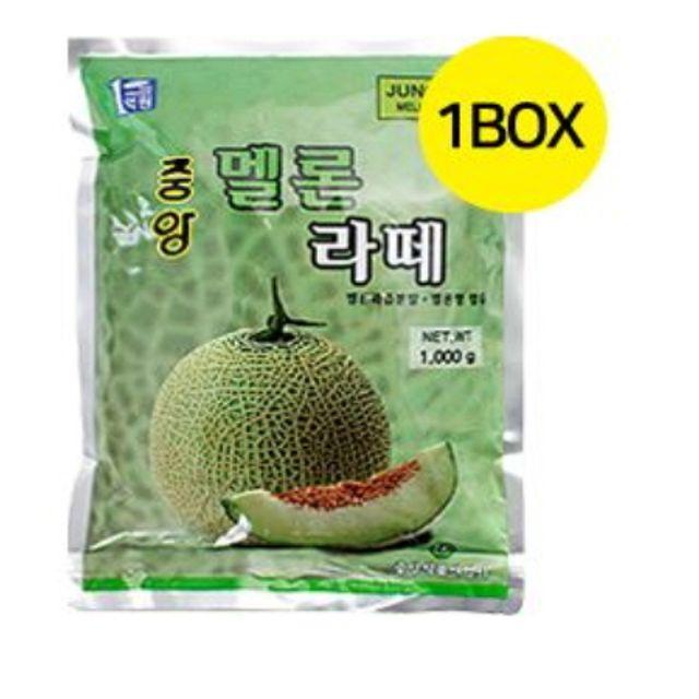 중앙 멜론라떼 1kgx12개 cm