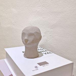 석고 얼굴 조각상 S사이즈