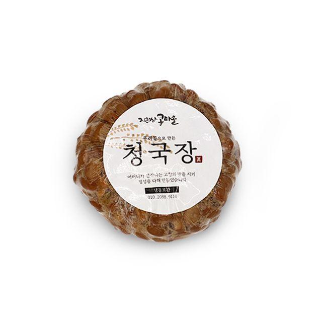청국장 180g 10세트 된장 발효식품 장류 지리산콩마을