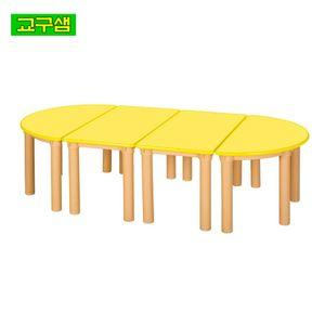 어린이 안전 노랑칼라 책상H530 H47-3