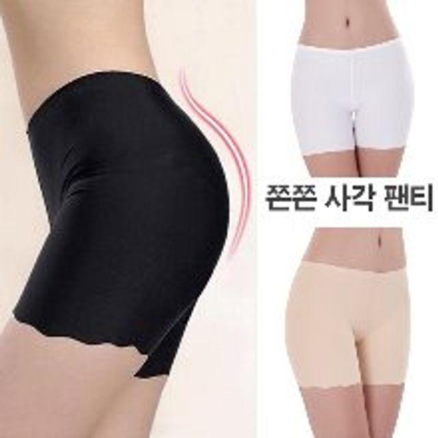 GnJ 여성사각 쫀쫀팬티 허벅지 엉살 군살정리팬티