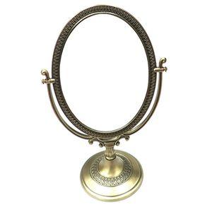 스탠드 거울 화장대 욕실 탁상 미니 거울 신주 36cm