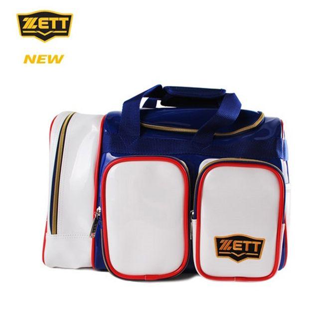 ZETT 제트 야구 개인장비 가방 BAK-537J 블루 보관함