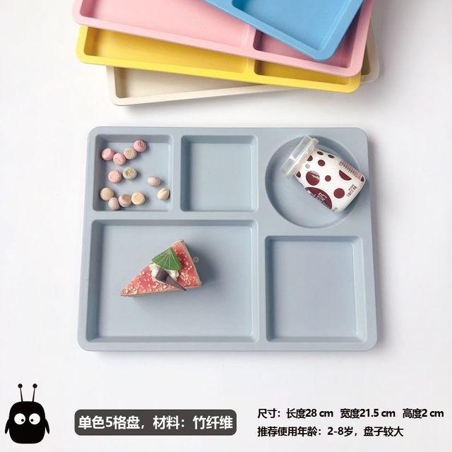 [해외] 주방용품 식판 기 유아용 접시식물