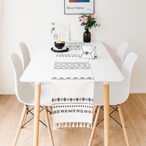 에스닉 패턴 홈카페 테이블 러너 보헤미안 식탁보