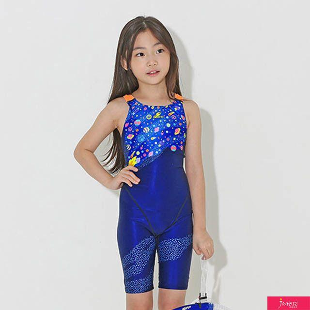 SDM 스프레드NV_OR 센티 여자아동 반전신 수영복