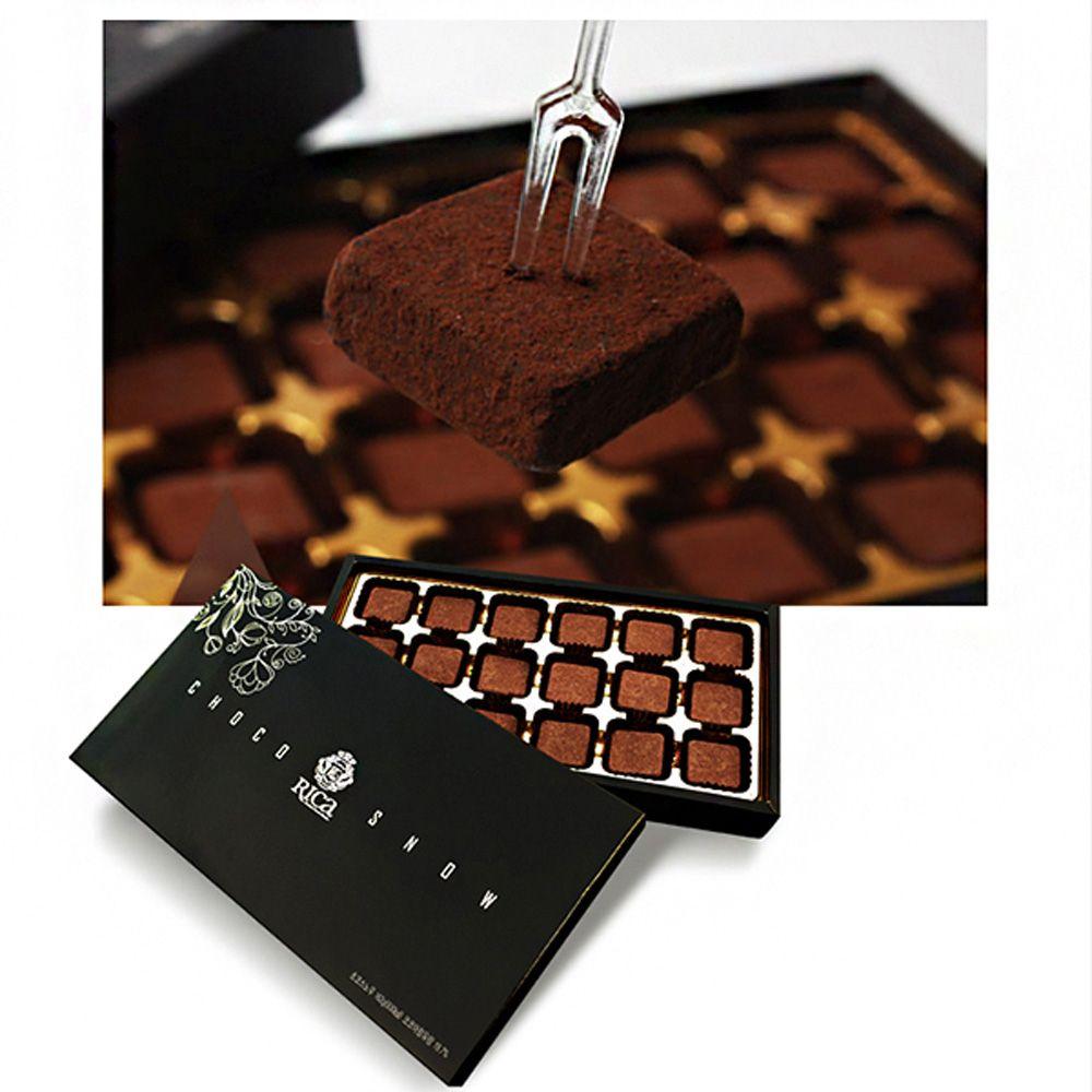 스푼홀릭_ 초코스노우(18구) 선물세트,초콜릿,초코,초코볼,초코선물세트,발렌타인데이,초콜릿세트