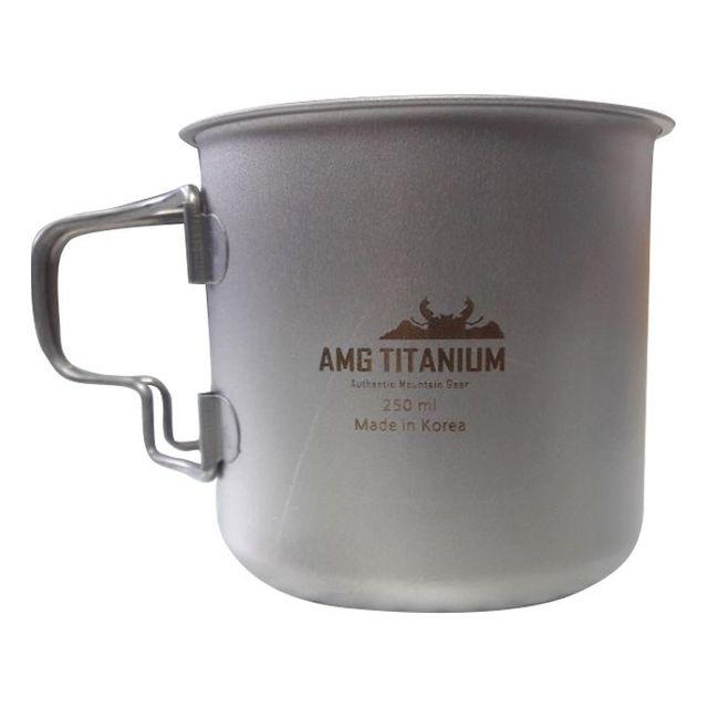 AMG티타늄 싱글머그컵 220ml / 250ml /300ml