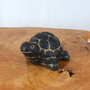 거북이 돌조각상 15cm/조형물/인테리어소품/장식품