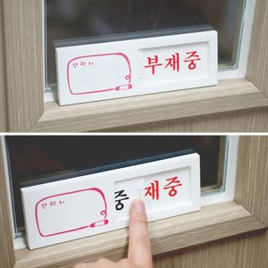 여닫이 표지판 미닫이표지판 안내판 표지판 인테리어