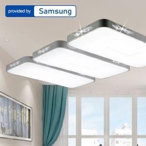 LED 도도 시스템 거실6등 150W 삼성칩사용 거실등