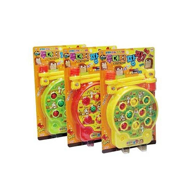 선물 생일 장난감 어린이집 크리스마스 어린이 초등학생 두더지 잡기 게임 팡팡 [제작 대량 도매 로고 인쇄 레이저 마킹 각인 나염 실크 uv 포장 공장 문의는 네이뽕]
