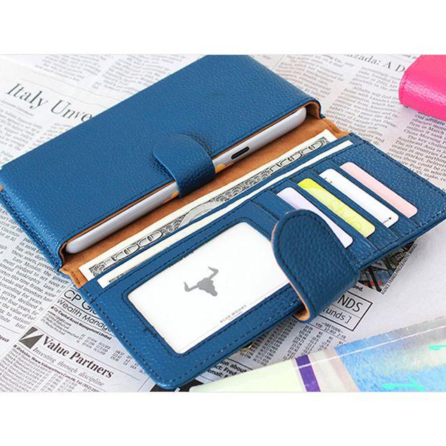 스마트폰 장지갑 가죽 지갑형 핸드폰케이스 지갑