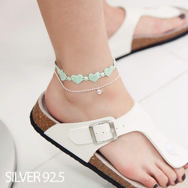 韩国直邮 时尚脚链