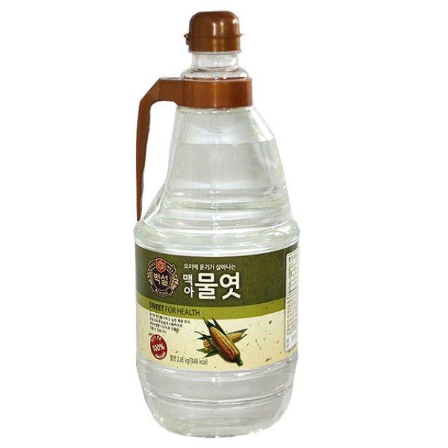 CJ백설 물엿2.45kg 물엿 올리고당 시럽 요리당 프락토,물엿,올리고당,시럽,요리당,프락토