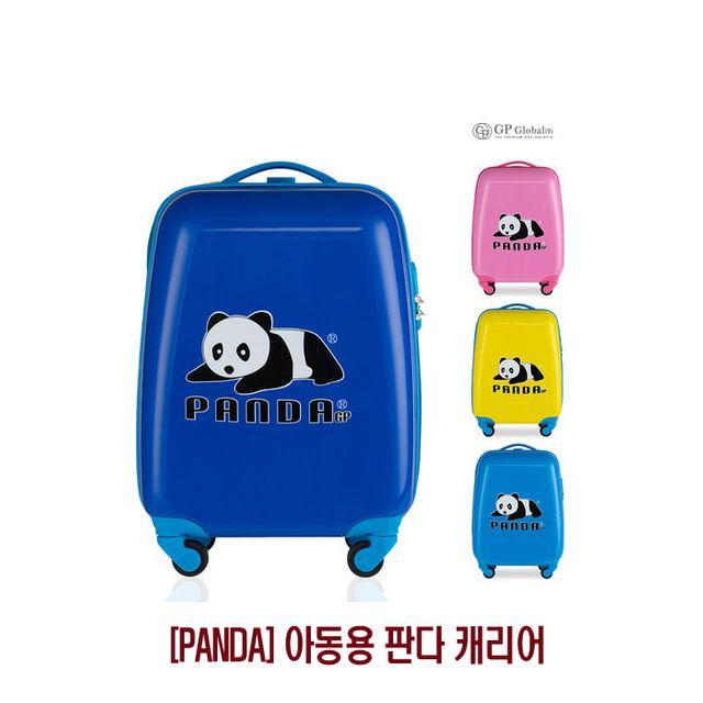 【韩国直邮】儿童旅行用可爱熊猫t图案拉杆箱