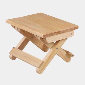 원목 접이식 간이 의자 사각의자 스툴 인테리어의자