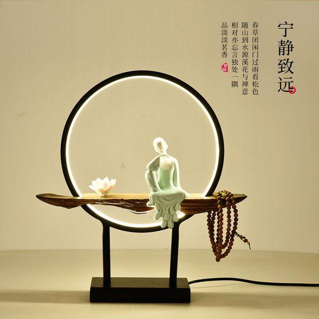 [해외] 인테리어 스텐드 조명 브 장식 연구 램프