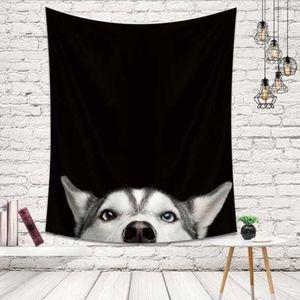 벽 가림막 포스터 빼꼼 강아지 인테리어 소품 3size