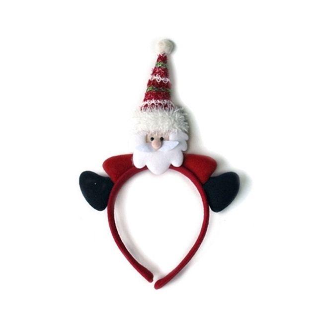 크리스마스 장식 소품 토끼 머리띠 아기 유아 아동 동물 모자 산타 행사 파티 어린이집 [제작 대량 도매 로고 인쇄 레이저 마킹 각인 나염 실크 uv 포장 공장 문의는 네이뽕]