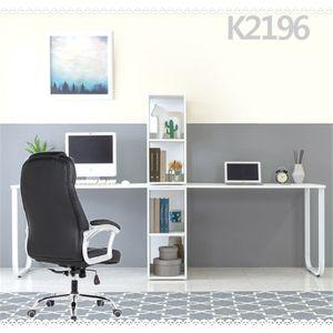 K2196 2인용 책상 4단수납