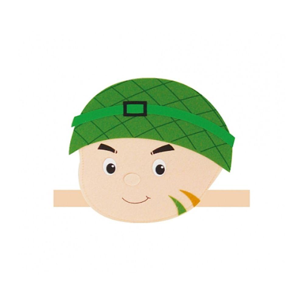 [FB0F31] 직업 머리띠 군인