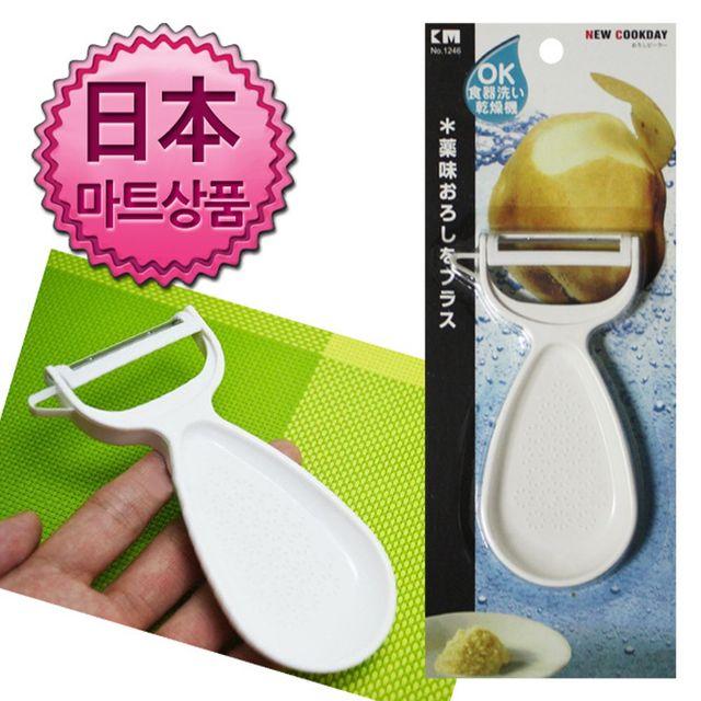 W 일본마트상품 다기능 일자 과일야채칼 야채칼 과