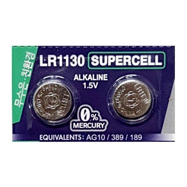 슈퍼셀 무수은전지 LR1130(10알) 1.5V건전지