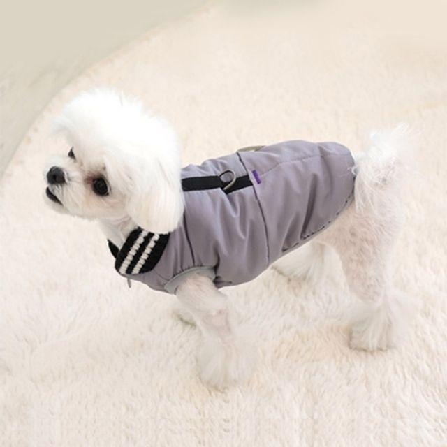 패리스독 머스크 패딩 그레이(S-XL) 강아지옷 겨울옷