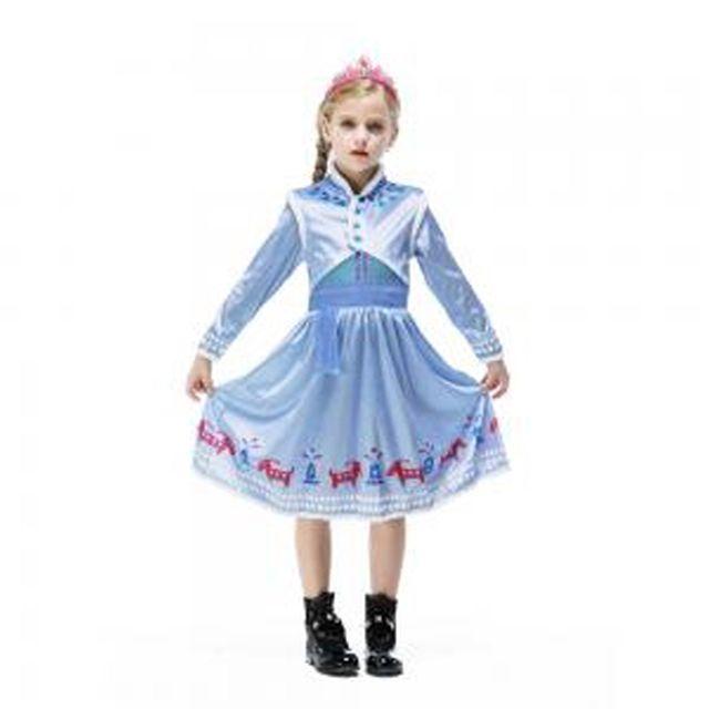 할로윈 의상 아동 공주 겨울왕국 안나 코코 드레스