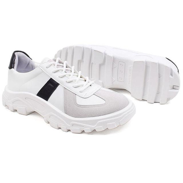 W 남성 운동화 유행 스니커즈 신발 키높이 효과 슈즈