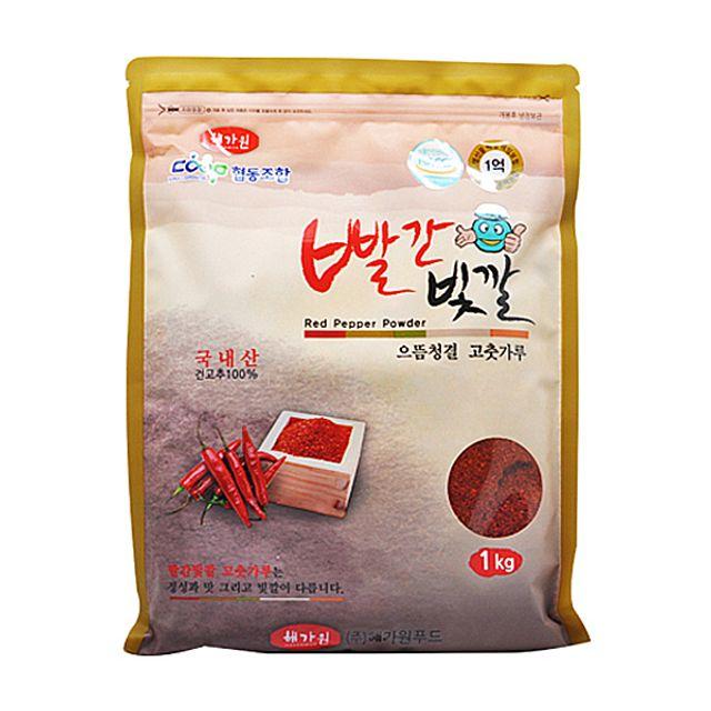 국산 고추가루 1kg X 10EA_1BOX 해가원,해가원,국산고추가루1kgX10EA_1BOX,간편식품