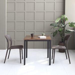 멜로우 750 스틸 카페 테이블