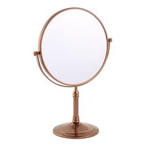 스탠드 양면 화장 거울 로즈골드 탁상 거울 메이크업