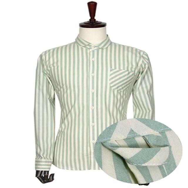 W 캐주얼 소브리에 스트라이프 셔츠 남성의류