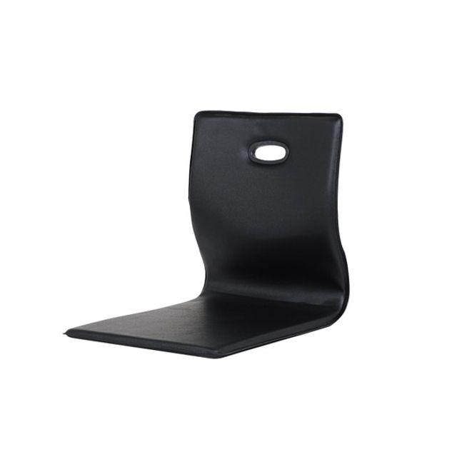레자 좌식 의자 책상 등받이 일식