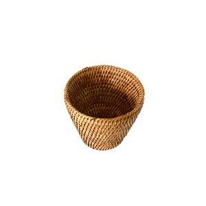 미얀마 천연 라탄 캔들 홀더 BK172