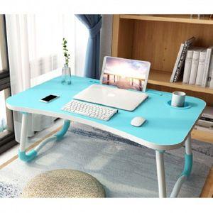 태블릿컵홀더 접이식 좌식테이블 블루