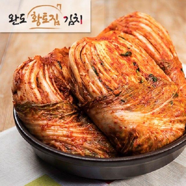 백프로 국내산 완도청정 황토집배추김치10kg,전라도김치,포기김치,황토집김치,동치미,깍두기