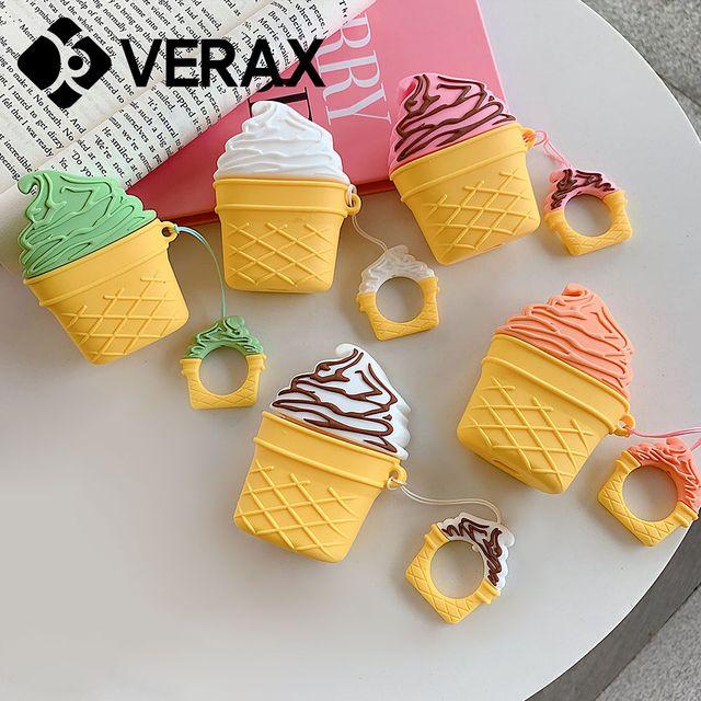에어팟1 2 아이스크림 실리콘 케이스 EC030