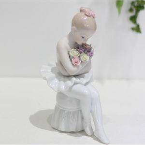 세라믹 발레소녀(꽃다발)